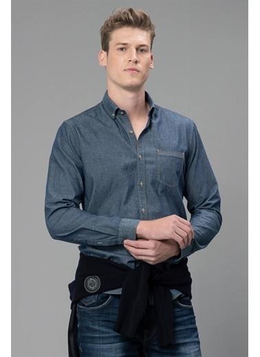 Lufian Gömlek İndigo